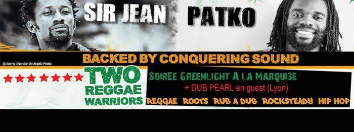 Patko + Sir Jean + Conquering Sound + Dub Pearl