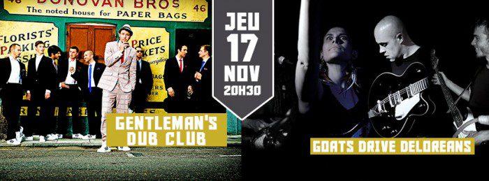 Gentleman's Dub Club + Goats Drive Deloreans