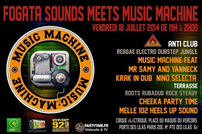 Music Machine meets Fogata Sounds