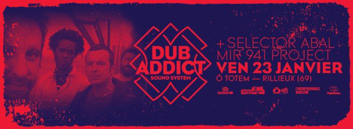 DUb Addict Sound System – Full Sound Full Crew