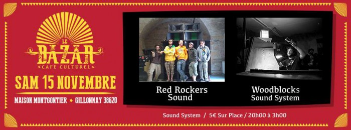 Red Rockers Sound / Woodblocks Sound System