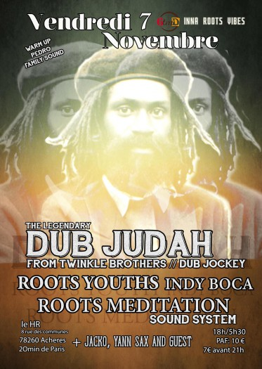 The Legendary : Dub Judah from Twinkle Brothers