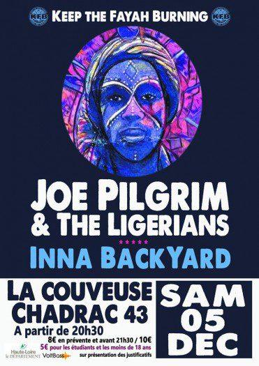 Joe Pilgrim & The Ligerians Inna Backyard