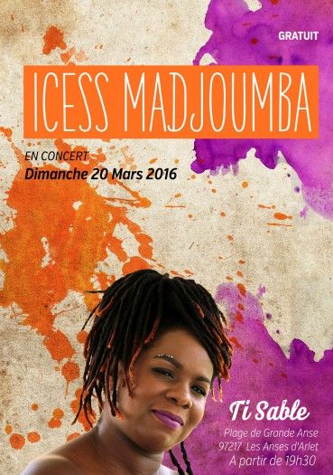 Icess Madjoumba en Martinique