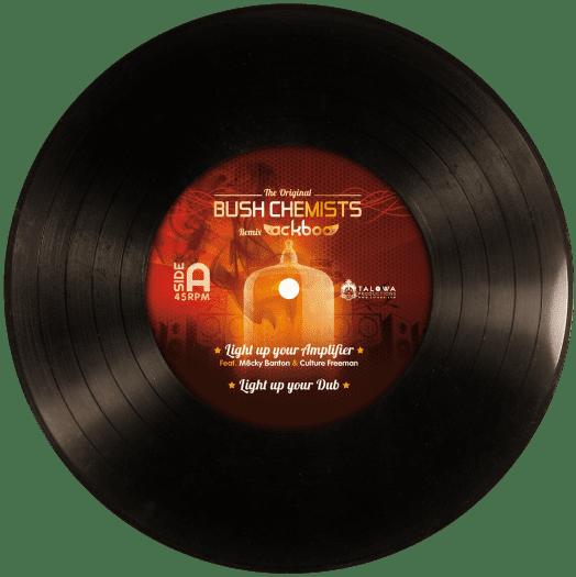 "Ackboo meets Bush Chemists - 12"" Tanta Records"