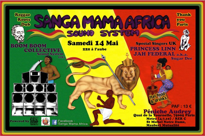 Sanga Mama Africa + BoomBoom Collective Sound System