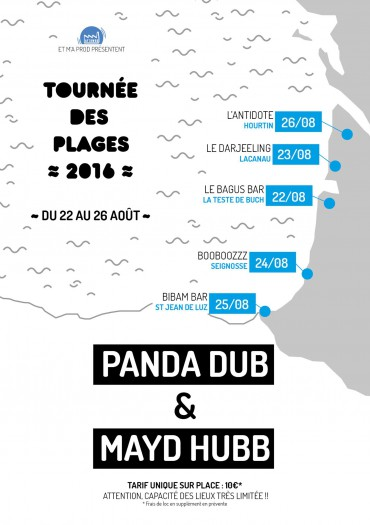 Panda Dub & Mayd Hubb @ Bibam Bar