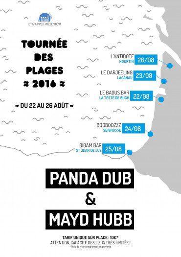 Panda Dub & Mayd Hubb @ L'Antidote