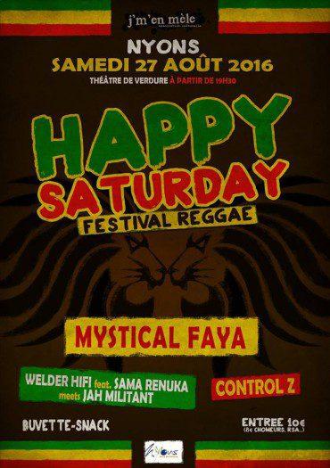 Happy Saturday Reggae Festival