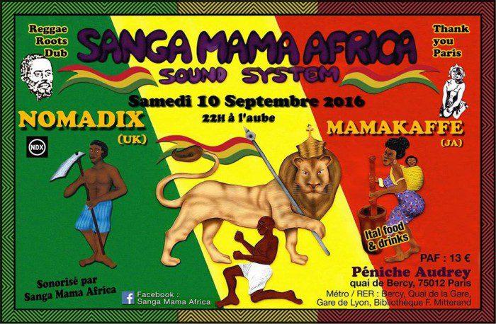 Sanga Mama Africa + Nomadix + Mamakaffe