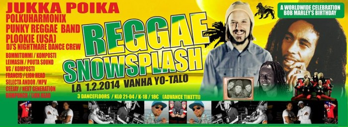Reggae Snowsplash