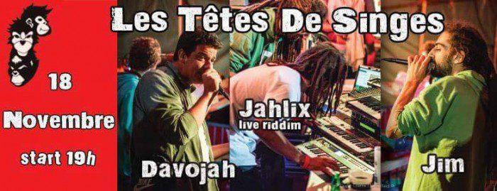 Jahlix / Davojah / Jim Rock