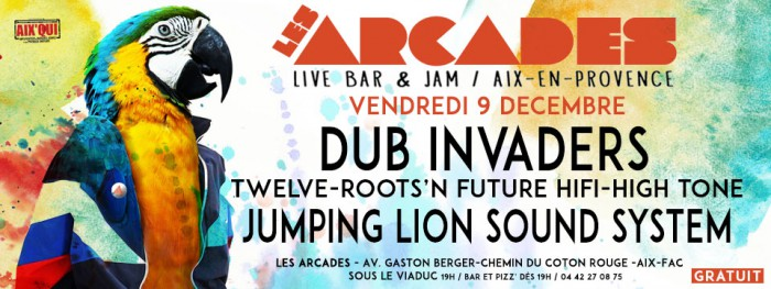 Dub Invaders @ Jumping Lion Sound System