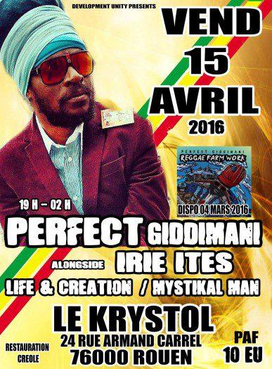 Perfect Giddimani @ Rouen