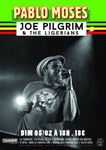 Pablo Moses + Joe Pilgrim & The Ligerians