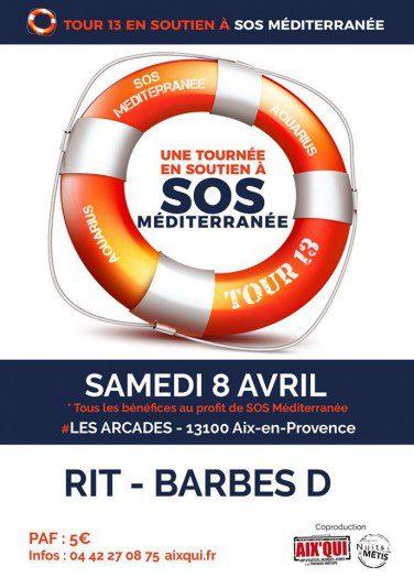 Tour 13 soutien SOS Méditerranée