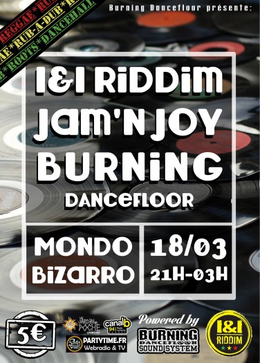 I&I Riddim + Jam & Joy Sound + BurningDancefloor