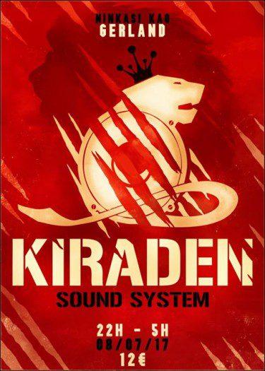 Kiraden Sound System @ Lyon