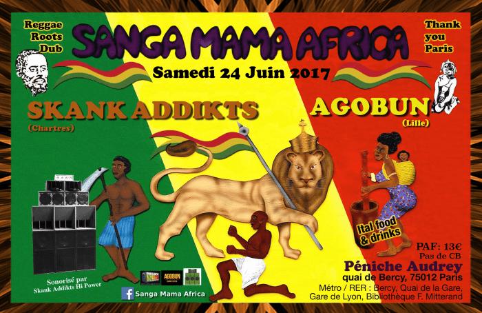 Sanga Mama Africa & Skank Addikts & Agobun