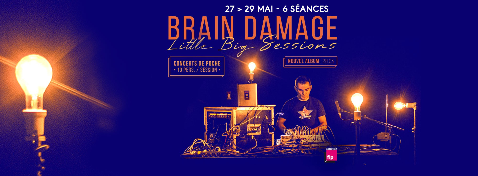 Brain Damage – Little Big Sessions   Elmediator