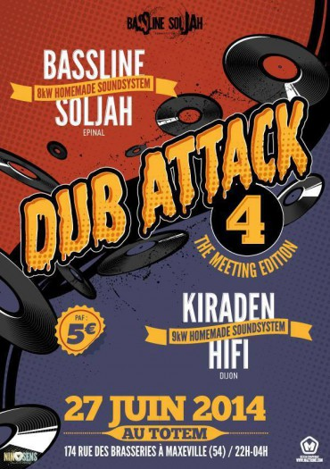Dub Attack #4 Meeting Edition