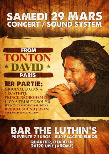 Tonton David en concert