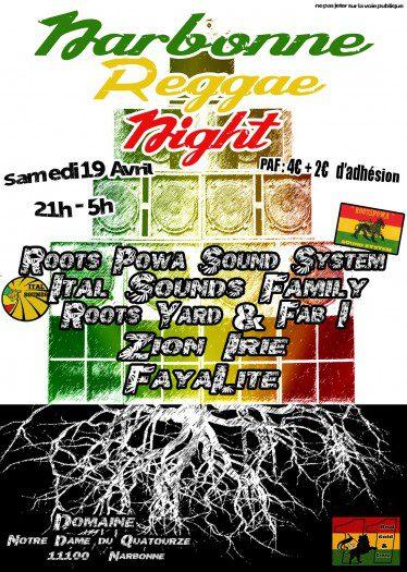 Narbonne Reggae Night