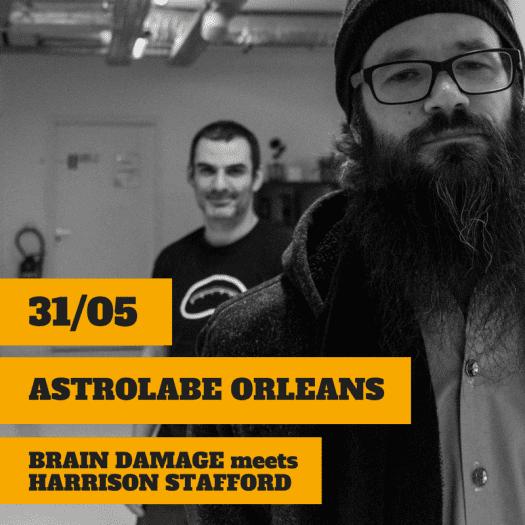 Brain Damage Meets Harrison Stafford + Mahom