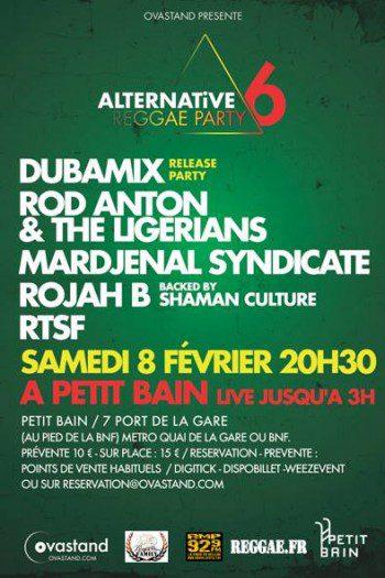 Alternative Reggae Party #6 – DUBAMIX Release Party