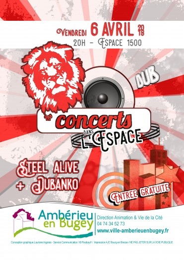 Concerts dans l'Espace