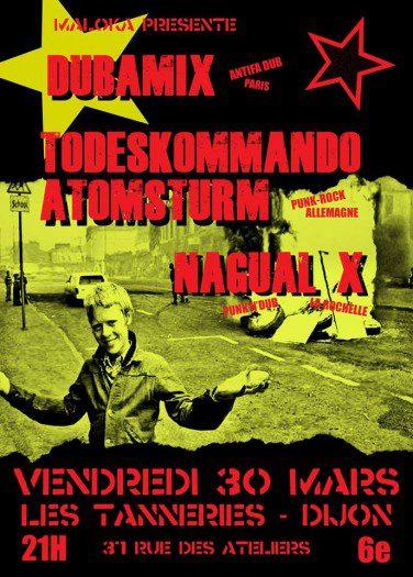 Dubamix, Nagual X, Todeskommando Atomsturm