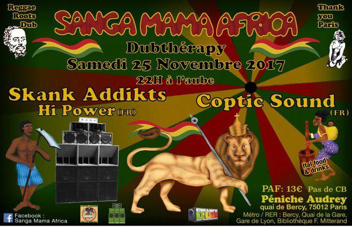 Sanga Mama Africa – Dubthérapy