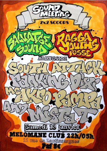 Salvatge Sound System meets Ragga Youths Posse