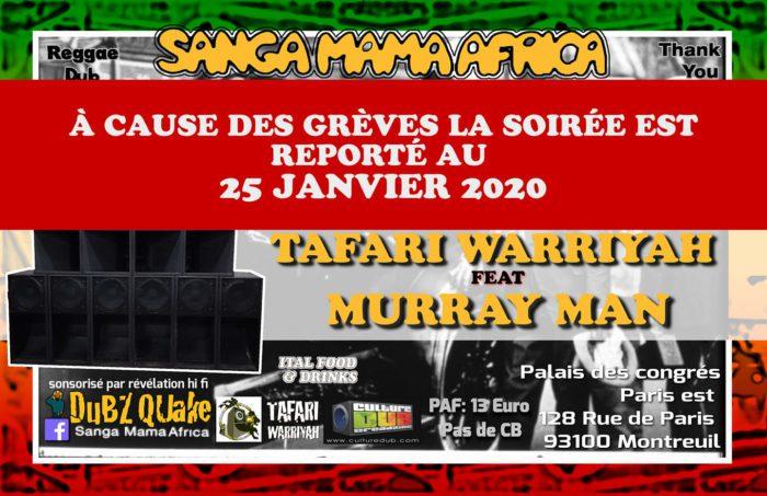 Sanga Mama Africa & Tafari Warriyah Feat Murray Man