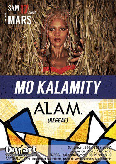 Mo'Kalamity + Alam + Cultural Reggae