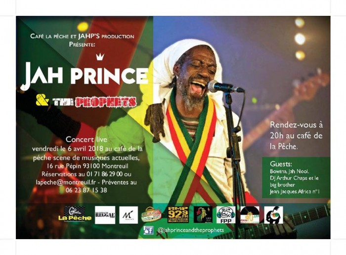 Jah Prince & the prophets + GUESTS