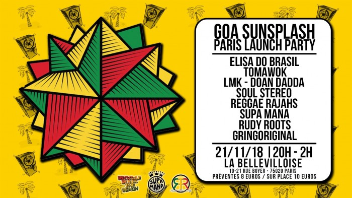 Goa Sunsplash Launch Party