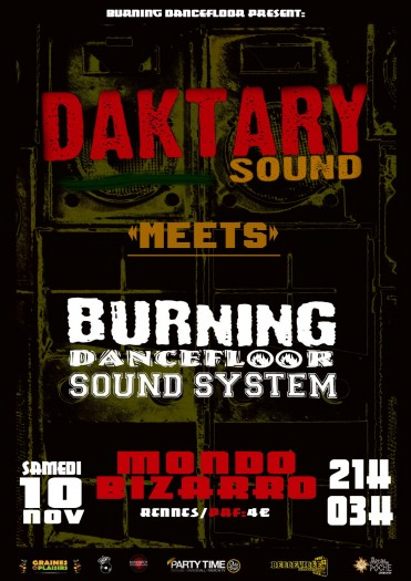 Daktary Sound meets Burning Dancefloor