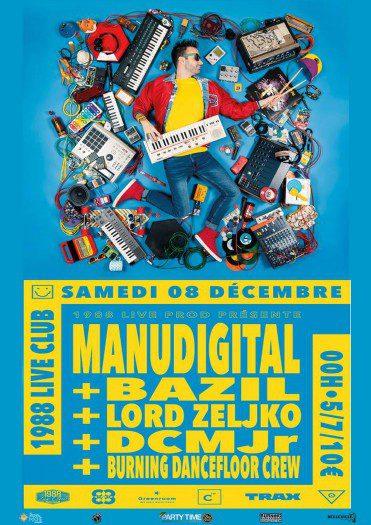 Manudigital + Bazil + Lord Zeljko + DCMJr + Burning Dancefloor Crew