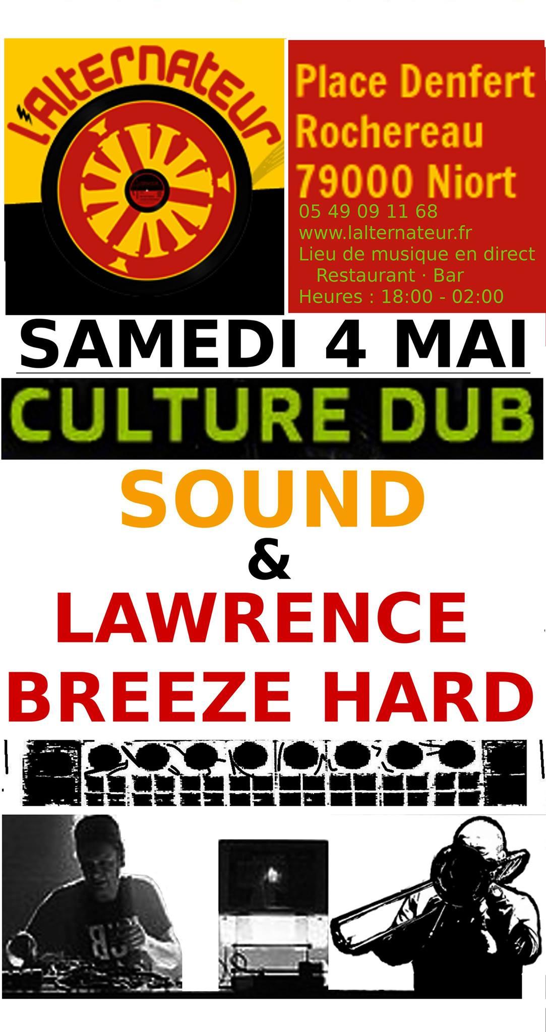 Culture Dub Sound & Lawrence Breeze Hard
