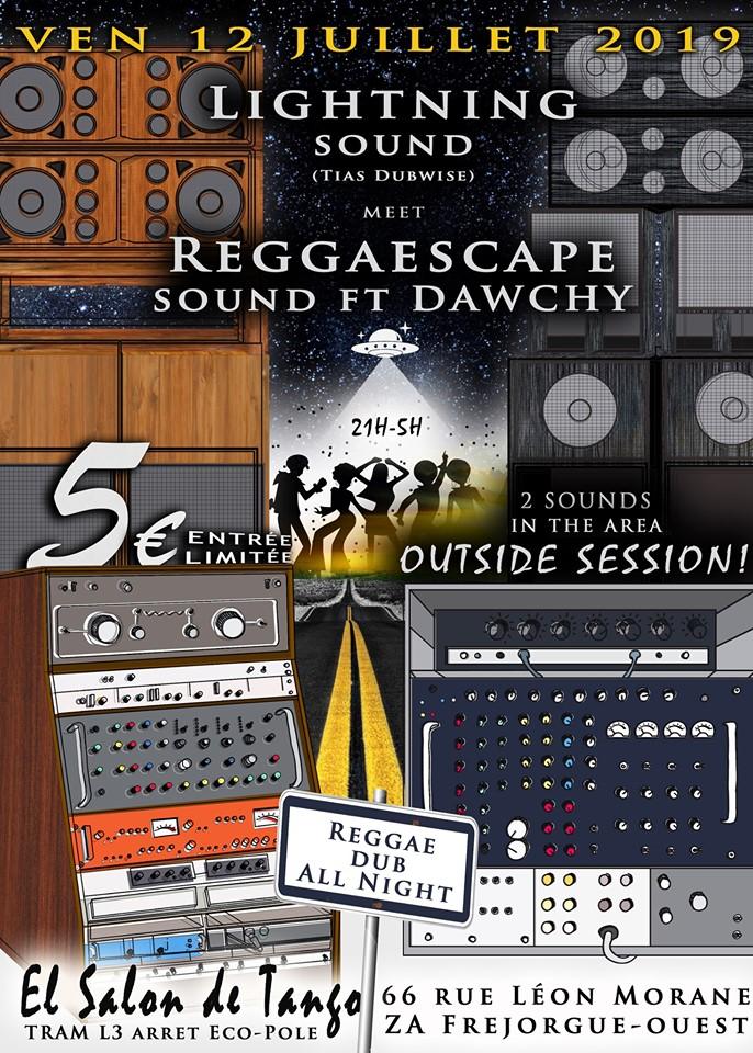 Lightning Sound System meets Reggaescape Sound System