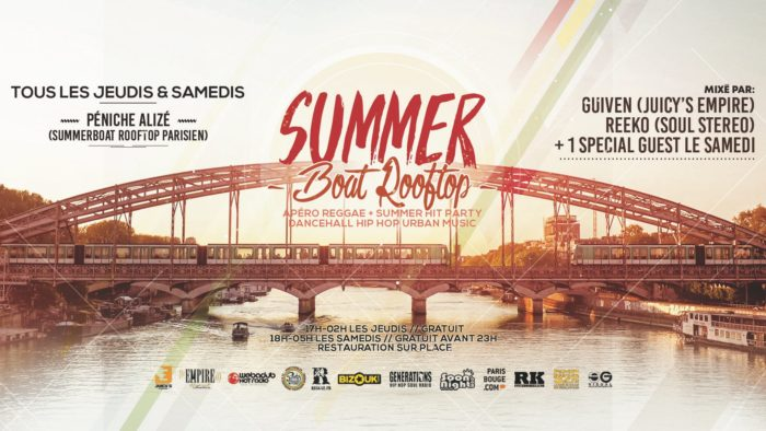 Summer Boat Rooftop Party