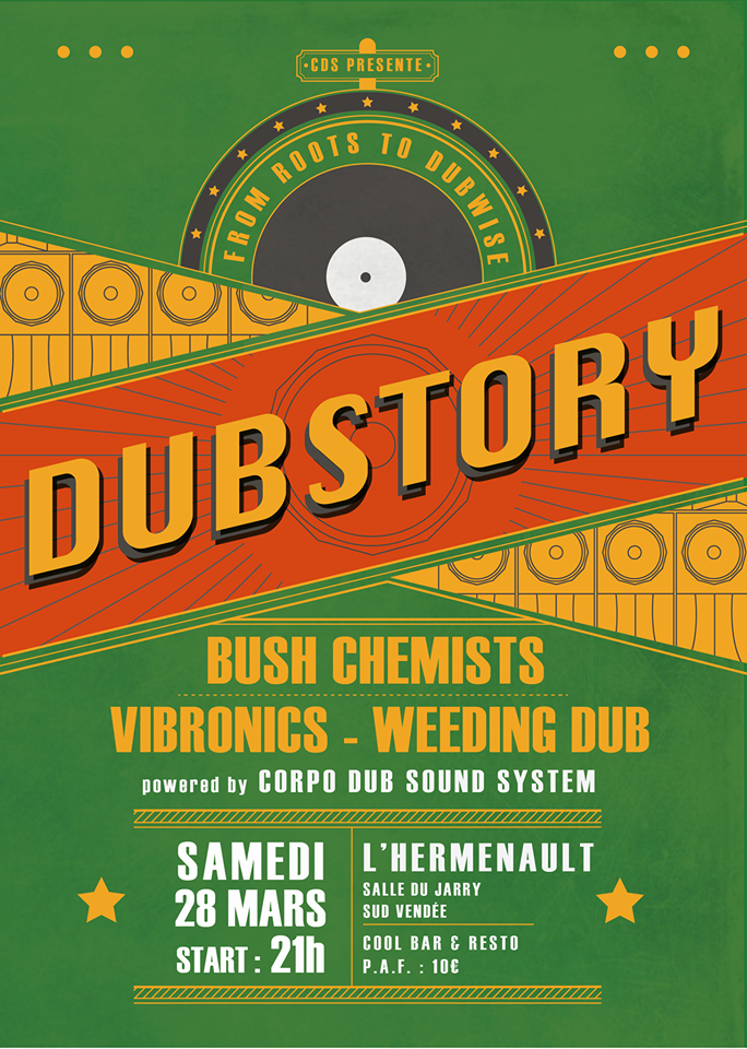 Dub Echo – Take It Heavy ! – 20 Avril 2014 – Villeurbanne
