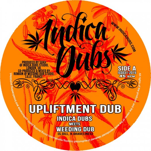 7inch Indica Dubs ISS031