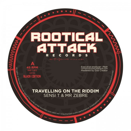 "7"" Rootical Attack Records RAR7.002"