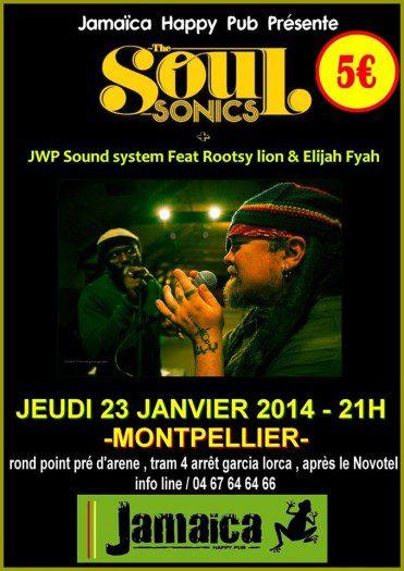 The Soul Sonics & JWP Sound System Feat Rootsy lion & Elijah Fyah