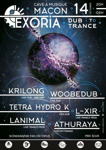 Exoria – Dub to Trance (Mâcon)