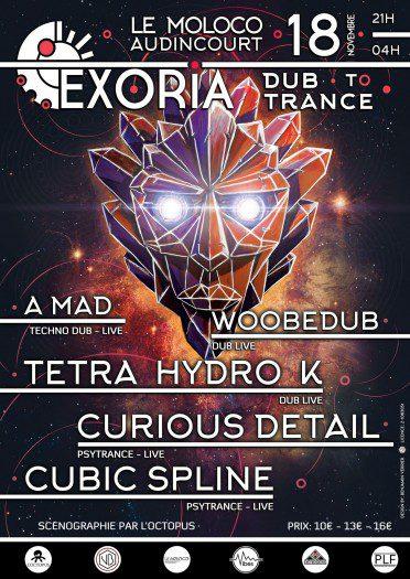Exoria – Dub to Trance (Audincourt)