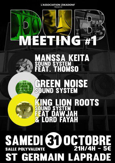 Zikadonf Dub Meeting #1