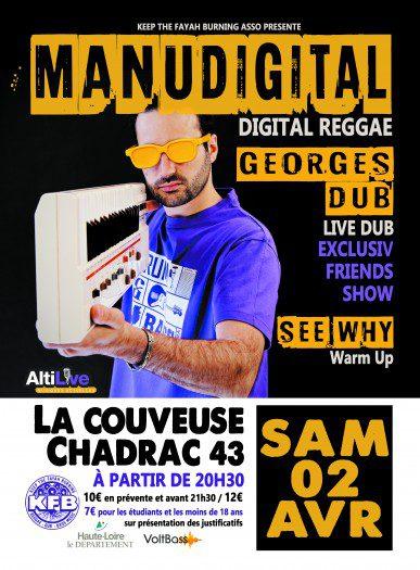 Manudigital feat Bazil + Georges Dub